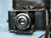 Agfa Memo 3.5 Version RARE Vintage Folding Camera Cased  -Nice -